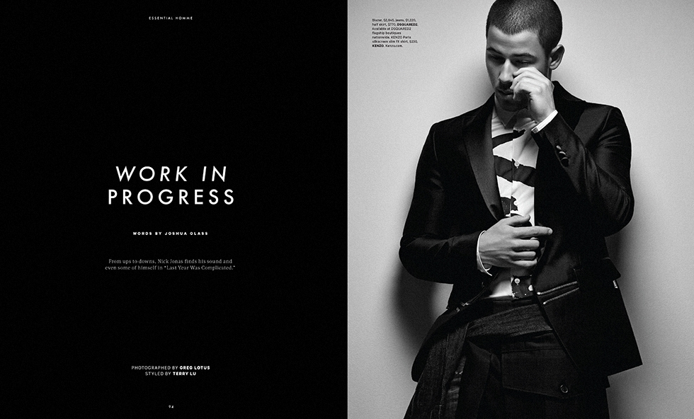 Essential Homme * Nick Jonas