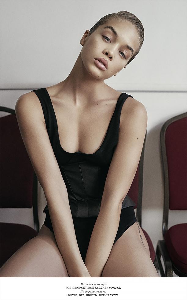Harper's Bazaar Kz * Jasmine Sanders