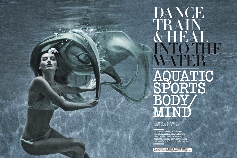 Italian Vogue * Into the water