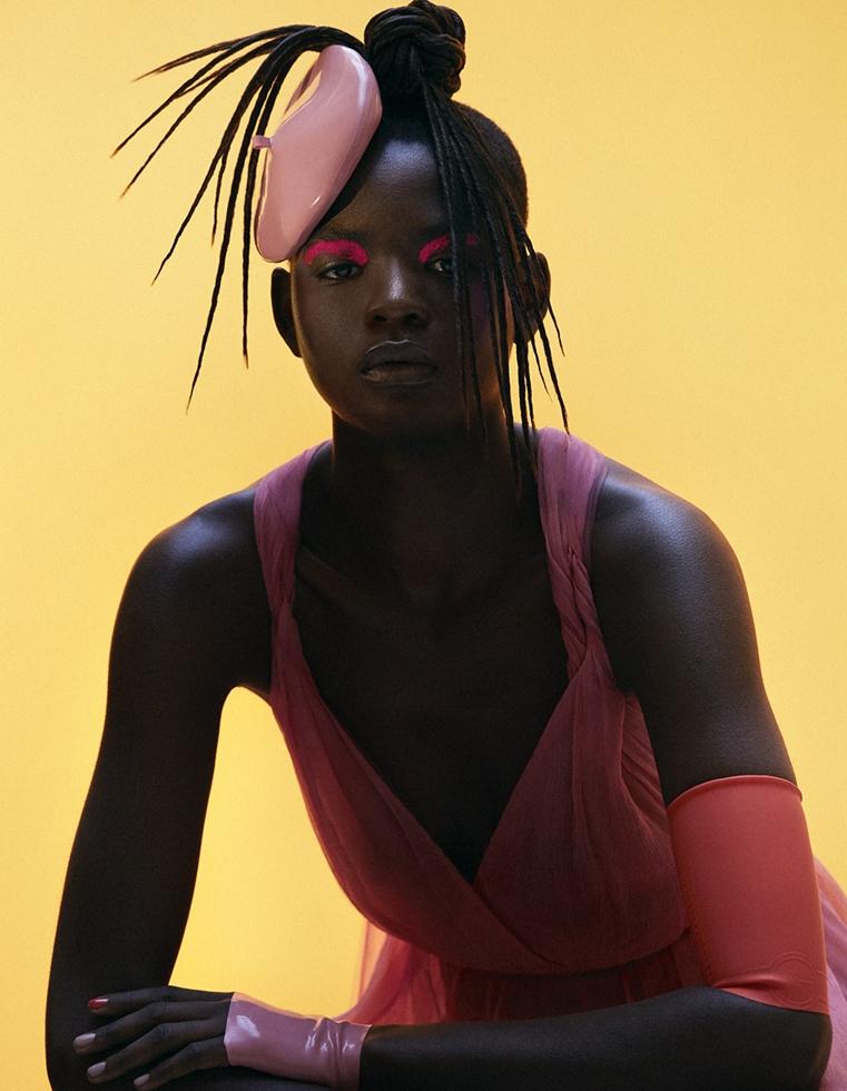 Vogue Arabia * Mouna Fadiga