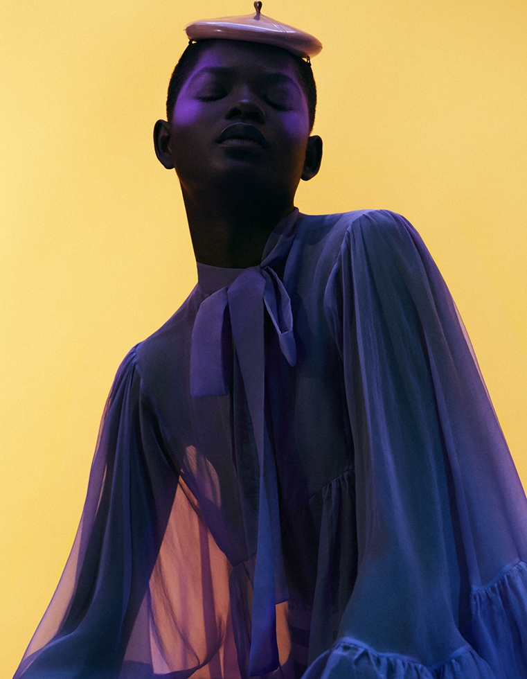 Vogue Arabia * Mouna Fadiga